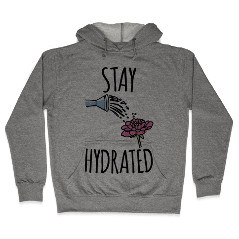 Stay Hydrated  Hooded Sweatshirt