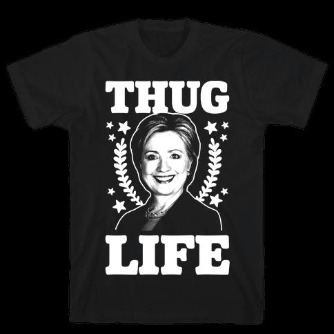 Thug Life HRC Mens T-Shirt