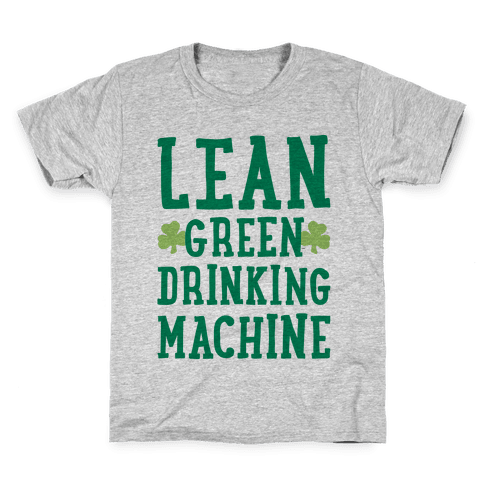 Lean Green Drinking Machine Kids T-Shirt