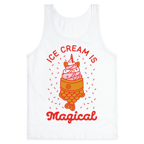 Ice Cream is Magical Tank Top