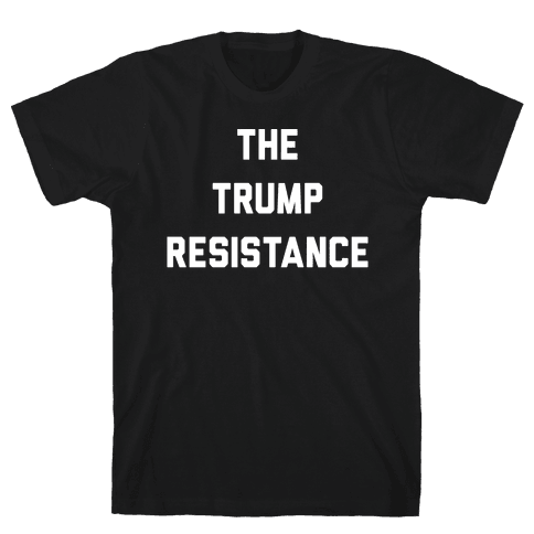 The Trump Resistance Mens T-Shirt