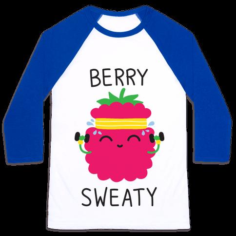 Berry Sweaty Baseball Tee