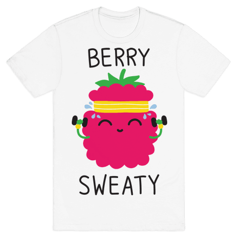 Berry Sweaty Mens T-Shirt