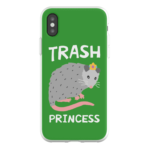 Trash Princess Phone Flexi-Case