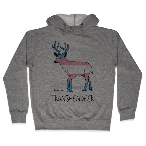 Transgendeer Hooded Sweatshirt