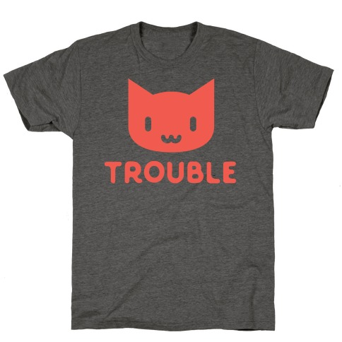 Trouble Cat T-Shirt