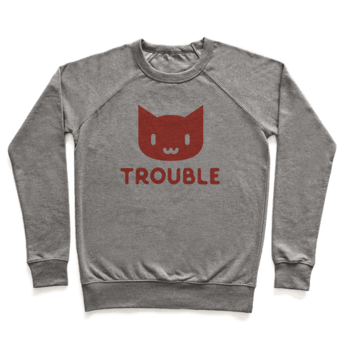 Trouble Cat Pullover