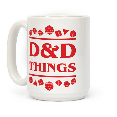 D&D Things Coffee Mug