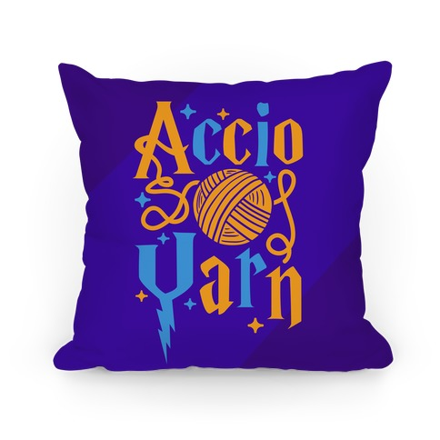 Accio Yarn Pillow