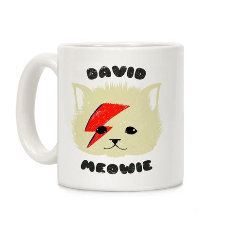 David Meowie Coffee Mug