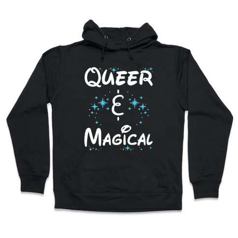 Queer and Magical Hooded Sweatshirt