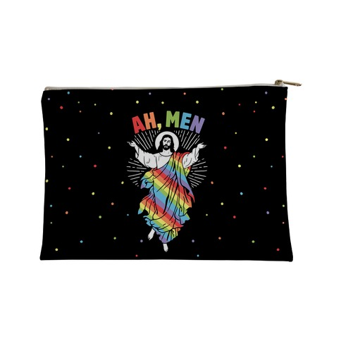 Ah Men Gay Jesus  Accessory Bag