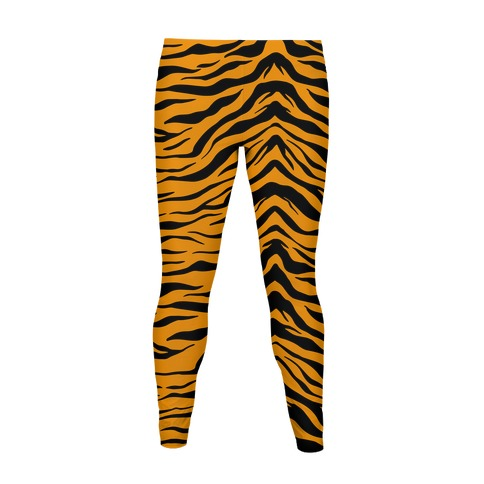 Tiger Stripe Pattern Women's Legging