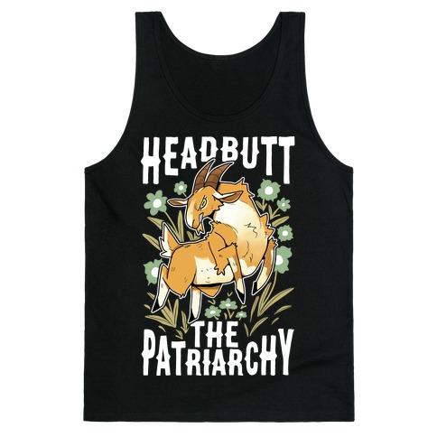Headbutt The Patriarchy Tank Top