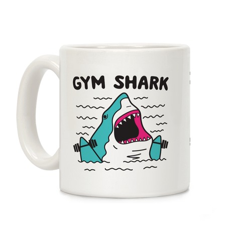 Gym Shark Coffee Mug