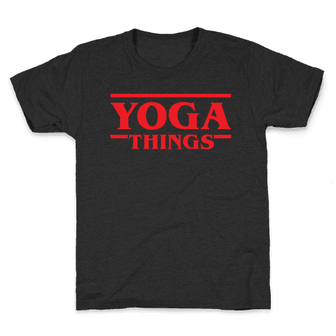 Yoga Things Kids T-Shirt