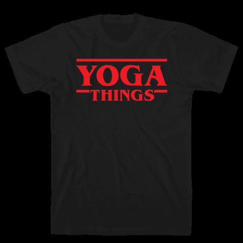 Yoga Things Mens T-Shirt