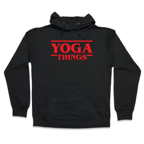 Yoga Things Hooded Sweatshirt