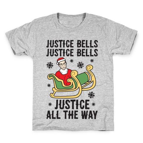 Justice Bells RBG Kids T-Shirt