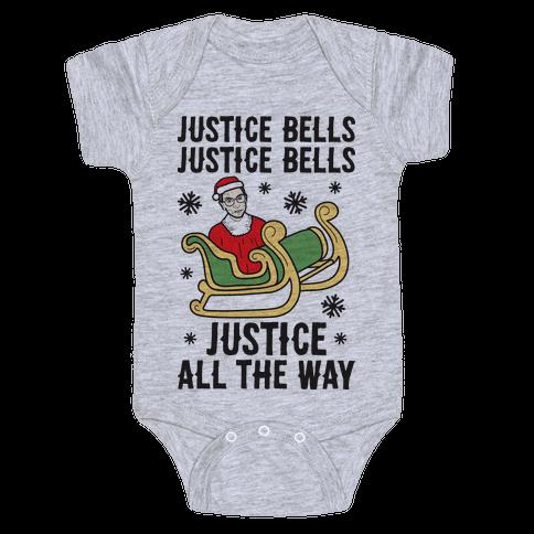 Justice Bells RBG Baby Onesy