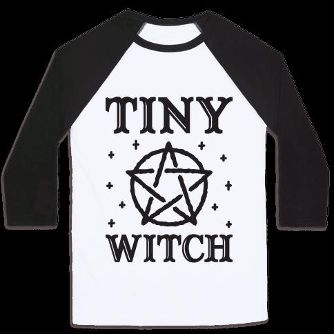 Tiny Witch Baseball Tee