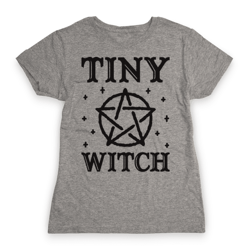 Tiny Witch Womens T-Shirt