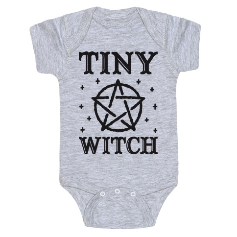 Tiny Witch Baby Onesy