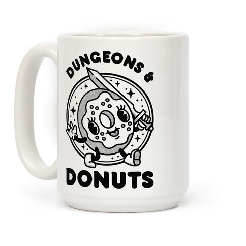 Dungeons and Donuts Coffee Mug