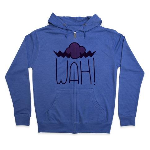 WAH! Pair (War Half) Zip Hoodie