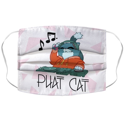 Phat Cat Accordion Face Mask