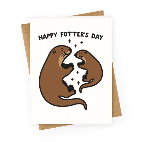Happy Fotter's Day Greeting Card
