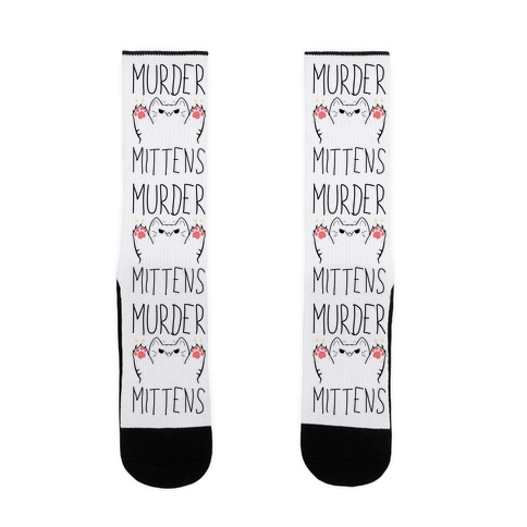 Murder Mittens Sock