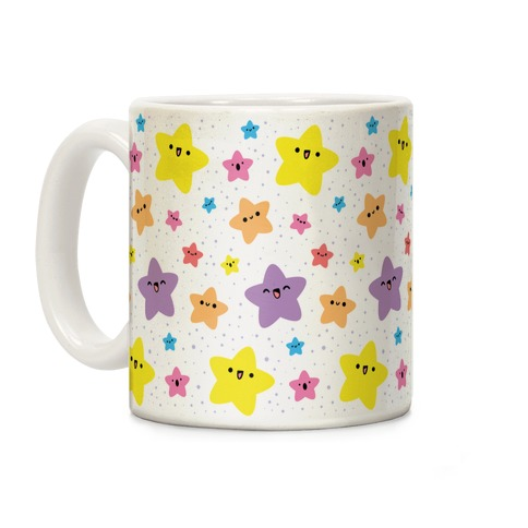 Cute Stars Pattern Coffee Mug