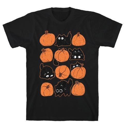 Pumpkin Cats T-Shirt