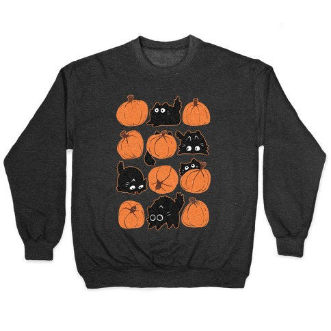 Pumpkin Cats Pullover