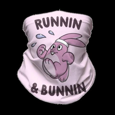 Runnin' And Bunnin' Neck Gaiter