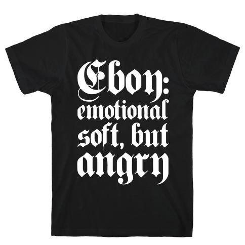 Eboy Definition White Print T-Shirt
