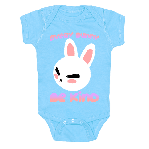 Every Bunny Be Kind Baby One-Piece