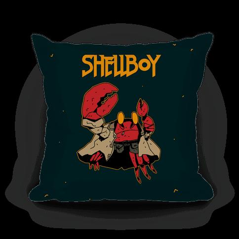 Shell Boy Pillow