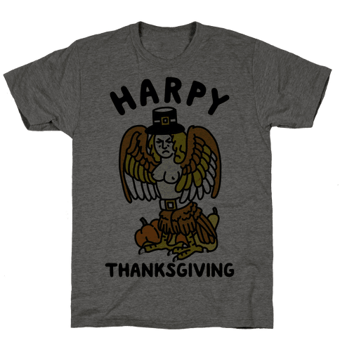 Harpy Thanksgiving Mens T-Shirt
