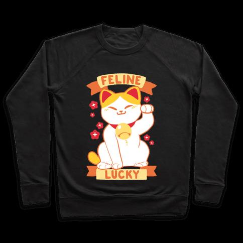 Feline Lucky Pullover
