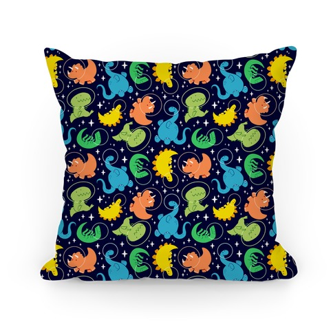 Space Dinos Pillow