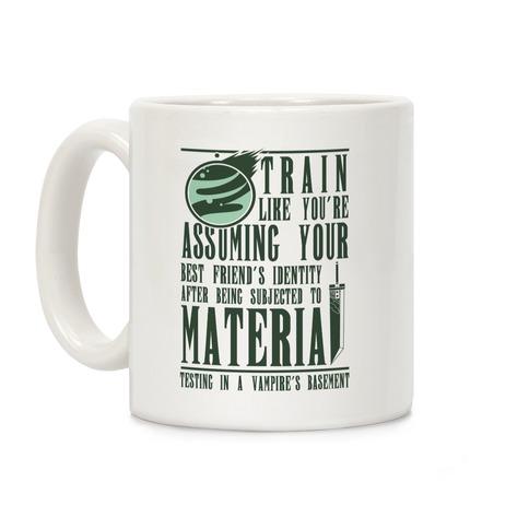Train Like Cloud Coffee Mug