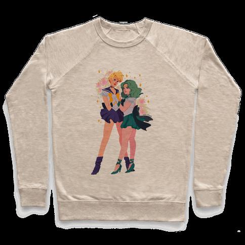 Sailor Neptune & Sailor Uranus Pullover
