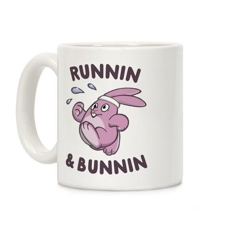 Runnin' And Bunnin' Coffee Mug