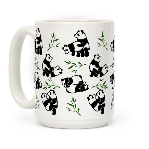 Pandas in Various Sexual Positions Coffee Mug