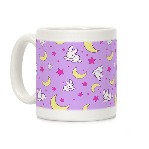 Sailor Moon's Bedding Pattern Coffee Mug