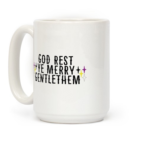 God Rest Ye Merry Gentlethem Coffee Mug