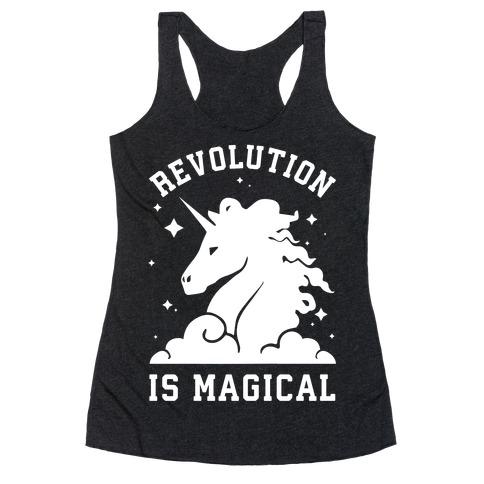 Revolution is Magic Racerback Tank Top