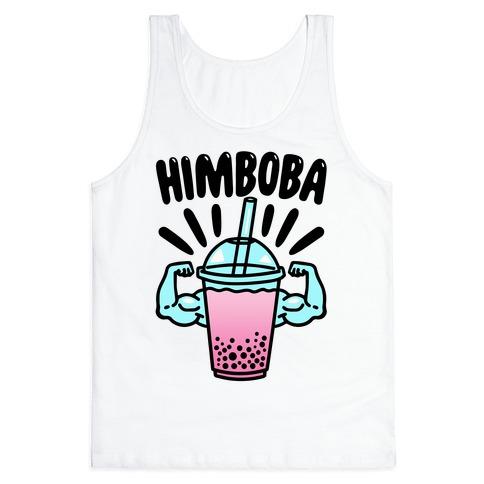 Himboba Himbo Bubble Tea Parody Tank Top